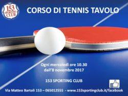 Corso Tennis Tavolo